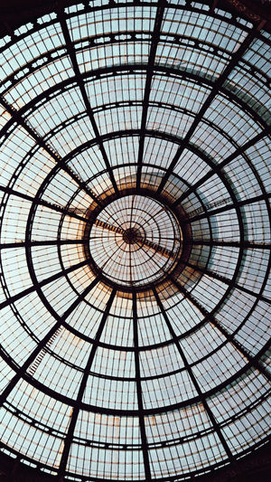 A glass roof