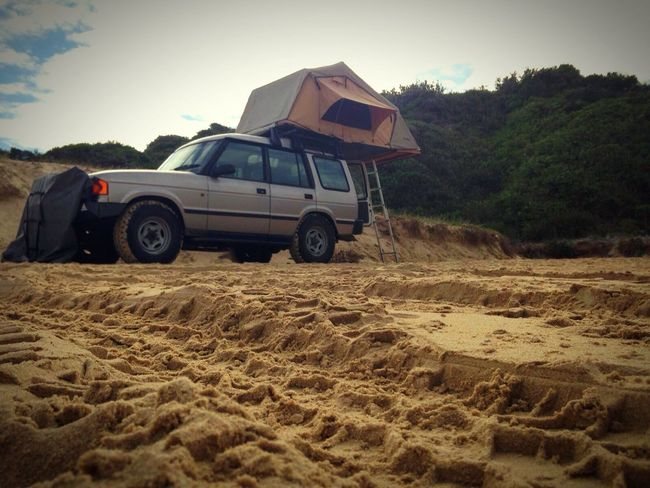 MeinAutomoment Being A Beach Bum 4x4 Land Rover Discovery from 1995