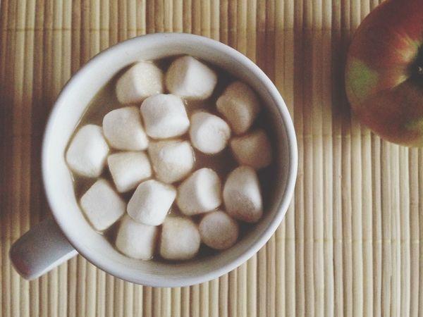 Marshmallow Coffeetime уютно