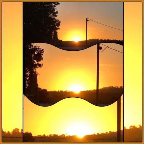 Went for a walk around the street and caught the full sunset ☀️🌤⛅️ Sunset Glimmerofthesun Shinebrightlikeadiamond☀️💎 BeautifulSunset MyPhotography SunsetCollage☀️ Blissful Momentstocatch ☀️💛☀️