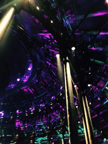 Battle Of The Cities Apple Music Festival Illuminated Vibrant Color Light Beam Famous Place Lighting Equipment