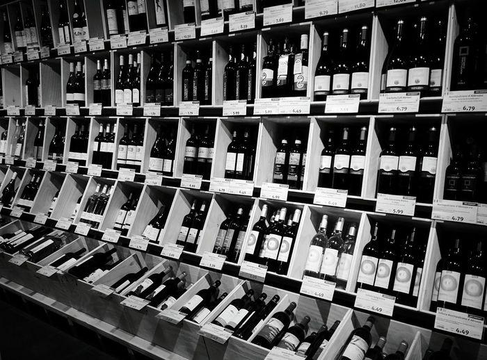 Day 240 - French paradise Berlin Blackandwhite Wine Bottle 365project 365florianmski Day240