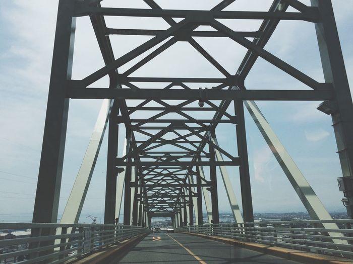 Bridge View In The Car