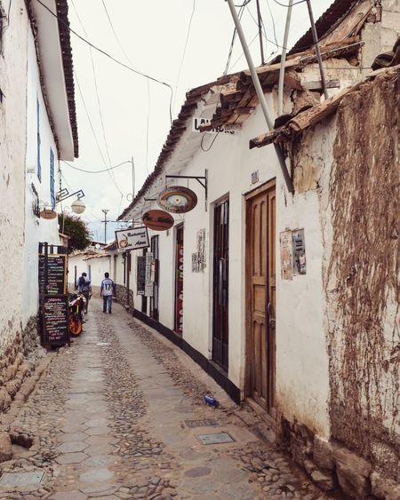 narrow streets in Cusco, Peru Peru Street Southamerica Cusco First Eyeem Photo