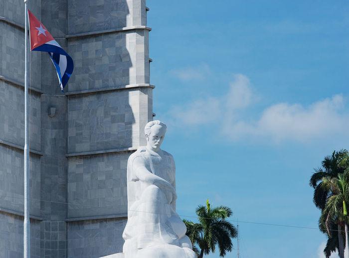 HAVANA, CUBA - September 04, 2016: Havana Revolution Square with tanks in Cuba America Architecture Armor Attraction Building Caribbean Che Guevara Cuba Fidel Castro Havana Historic Jose Martí Memorial National Revolution Revolution Square Revolutionary