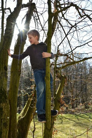 Klettern... Casual Clothing Tree One Person Full Length Standing Tree Trunk Day Leisure Activity Childhood Outdoors People One Boy Only Nature Lifestyle Real People Lifestyle Photography Child Boy Real Photography Klettern Bäume Climbing Trees Climbing Climbers Climbing A Tree Climbingtrees