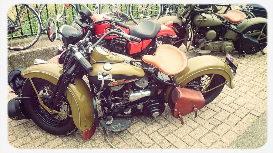 Old Motors Harley Davidson