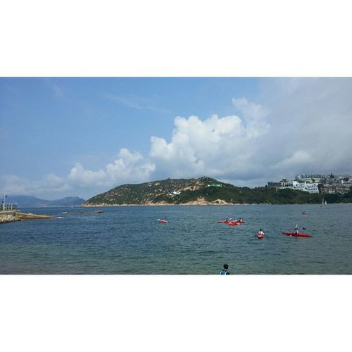 Meanwhile, in HongKong ... Southchinasea Mountains Satellitedishes Kayaking