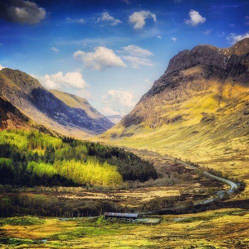 Glencoe from MeallMor Highlands Scotland