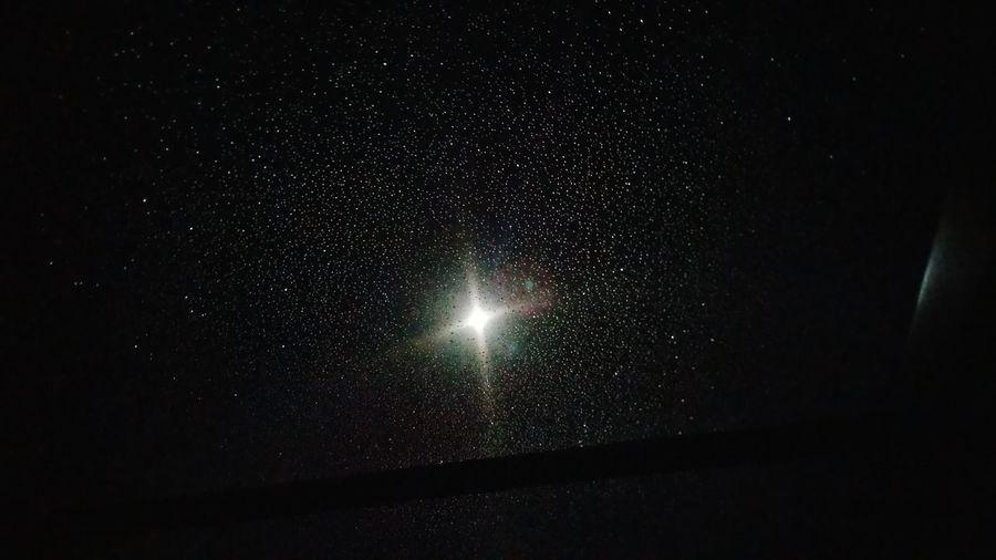 Water Like Stars Night Moon Light Light Water Droplets Water Drops Night Sky