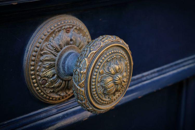 Close-Up Of Door Knob