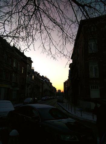 Streetphotography Mystreets Dusk Winter Wintertime