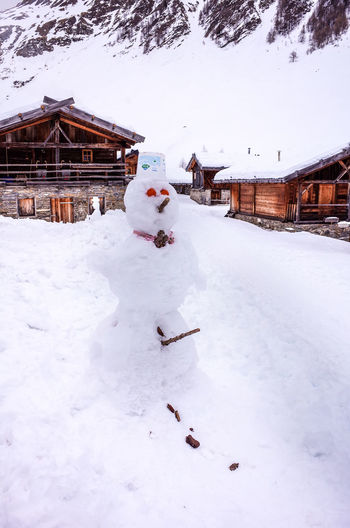 Dolomites Winter Wintertime Cabin Cold Temperature Countryside Frosty Frozen Huts Landscape Mountain Outdoors Snow Snowdrift Snowing Snowman Snowy Tyrol Village Weather White Color Winter