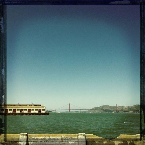Hipstamatic Enjoying The Sun Golden Gate Bridge