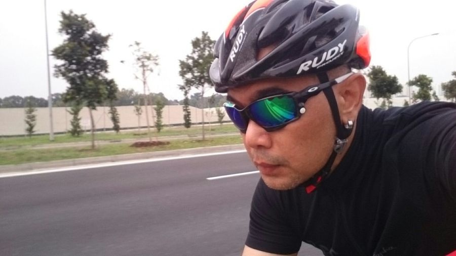 Jawbone feels great! Cycling Cyclist Enjoying Life That's Me Oakley Jawbone