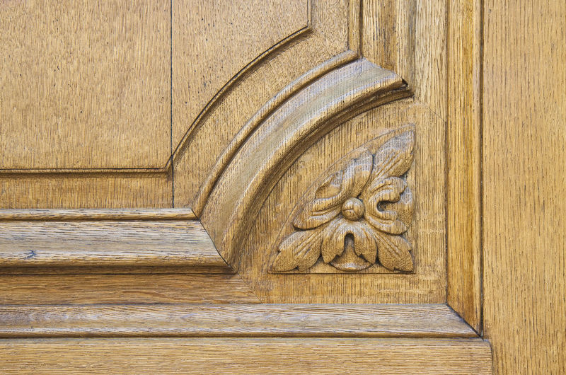 Antique Architecture Art And Craft Backgrounds Brown Building Exterior Built Structure Carving Carving - Craft Product Close-up Craft Creativity Day Door Entrance History No People Ornate Outdoors Pattern The Past Wood Wood - Material Wooden Door Detail