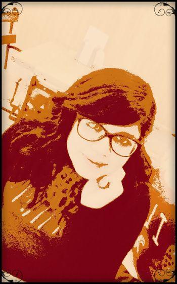 Ella <3 Retro Style Retrato Filtros Pixlr Mirada  Paseo Month Coronel, CHile.