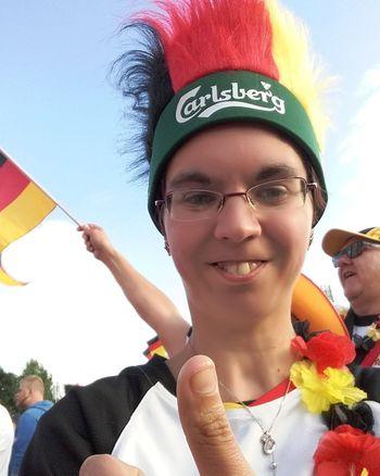 3:0 since Slovakia Em2016 Germany Deutschland Diemannschaft Public Viewing Sieg