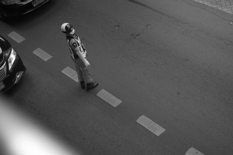 Traffic police Monochrome Urban Photography People Photography Streetphotography_bw Black And White Collection  Black&white Peoples Streetphotography Moments (null)Streetphoto City Street Streetphoto_bw People Watching Street Moment (null)Street Photography Street Life Black & White Blackandwhite Black And White Blackandwhite Photography Black And White Photography Blackandwhitephotography