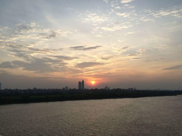 Hanoi Hanoi Wander Sunset Sky