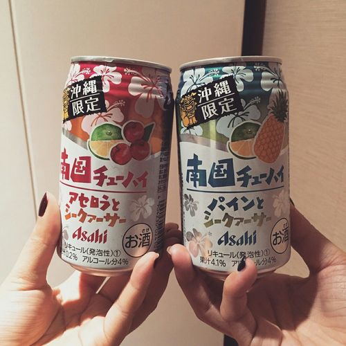 Okinawa Japan Asahi Beer 沖繩限定