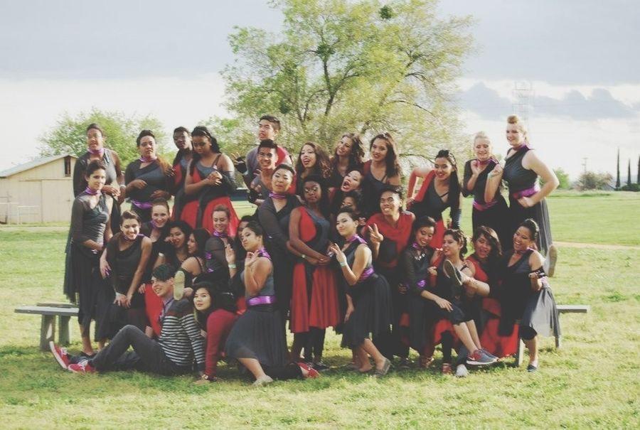 Family Colorguard Guard Dance