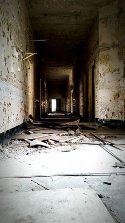 Samsungphotography Samsung Galaxy S5 Corridor Nopeople Urban Industrial Hospital Ruined Abbandoned Building Poland