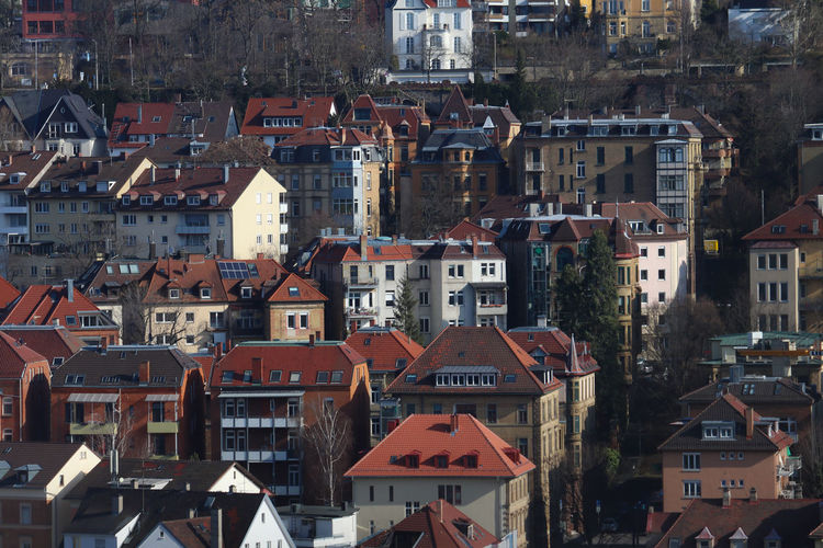 Hillside architecture of Stuttgart Architecture Building Exterior Built Structure City Cityscape Communication Day Hill Hillside House No People Outdoors Residential Building Roof Town Stories From The City Adventures In The City The Architect - 2018 EyeEm Awards
