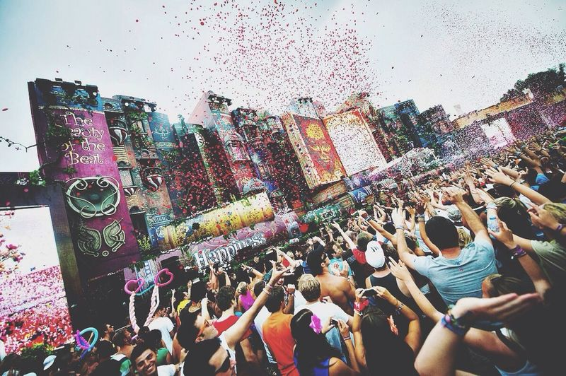 Tomorrowland Tomorrowland Festival Hello World Perfect