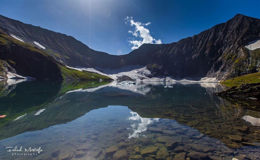Ratti gali lake in neelum valley Reflection Mountain Lake Landscape Water Beauty In Nature Nature