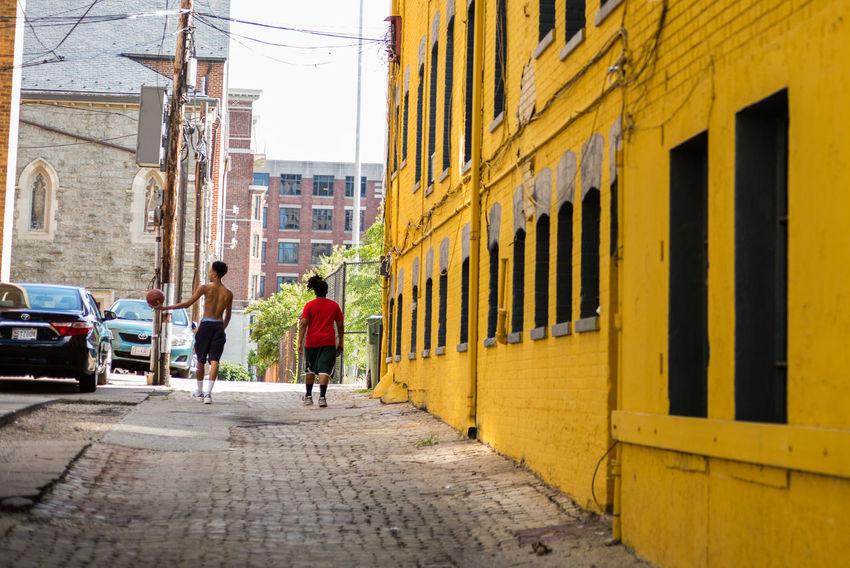 Alley Basket City Life City Street DC Streetphotography Summer Summertime Washington Washington, D. C. Colour Of Life