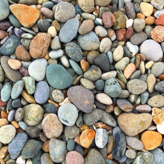 Full Frame Shot Of Stones At Beach