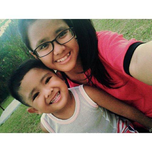 Sepetang bersama adik 💕 TamanPermainan