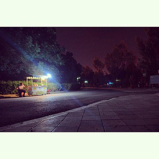 LastNight Erbilpark Erbil Hawler Kurdistan Irbil Samiabdulrahmanpark Samiabdulrahman Park Light Night Street