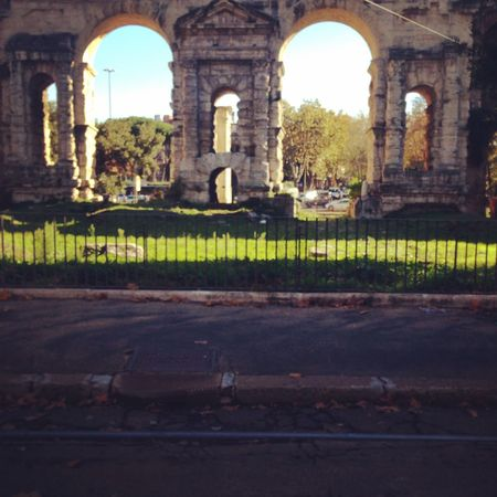 Rome, Porta Maggiore Taking Photos Historical Sights Monuments Rome History Architecture Streetphotography Traveling