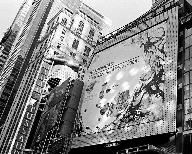 42nd Street, August 2016 Radiohead Canonet Canonetql17giii Kodak Kodak Tri-X 400 35mm Film Film Photography Believeinfilm Architecture Building Exterior Low Angle View City Life Manhattan NYC TimesSquare