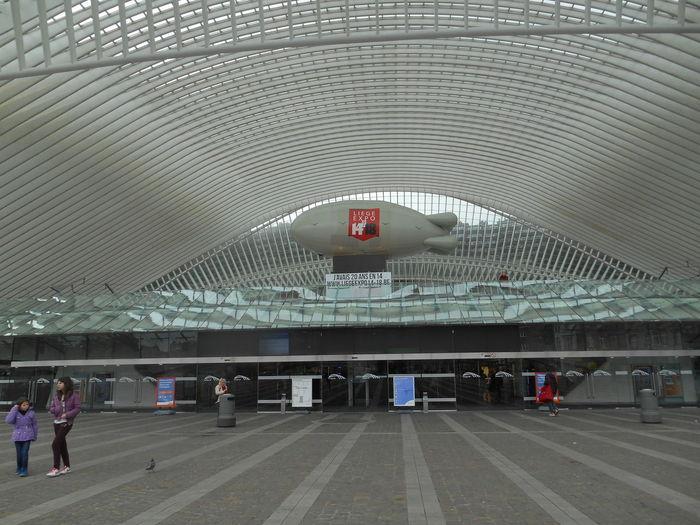 Liège-guillemins Liège Belgium Belgique Expo