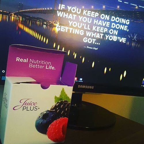 Love it when my Juiceplus arrives 😆. ❤REAL NUTRITION. BETTER LIFE.❤ Healthychoices Betterlife Healthy Happy Happyandhealthy