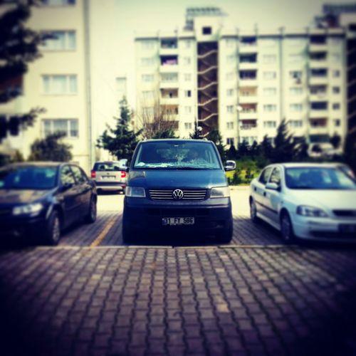 Volkswagen Car Minibus Street Photography