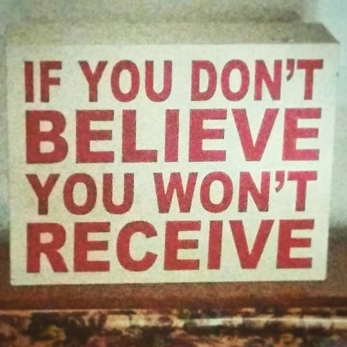 bizoucarcajou.etsy.com Believe Receive Karma Quote feelit winner positivethinking