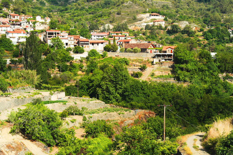 Agros Village, Cyprus Church Cyprus Troodos Architecture Beauty In Nature Building Exterior Built Structure Day High Angle View House Landscape Mountain Nature No People Outdoors Residential Building Scenics Town Tranquility Tree Breathing Space Chemistart