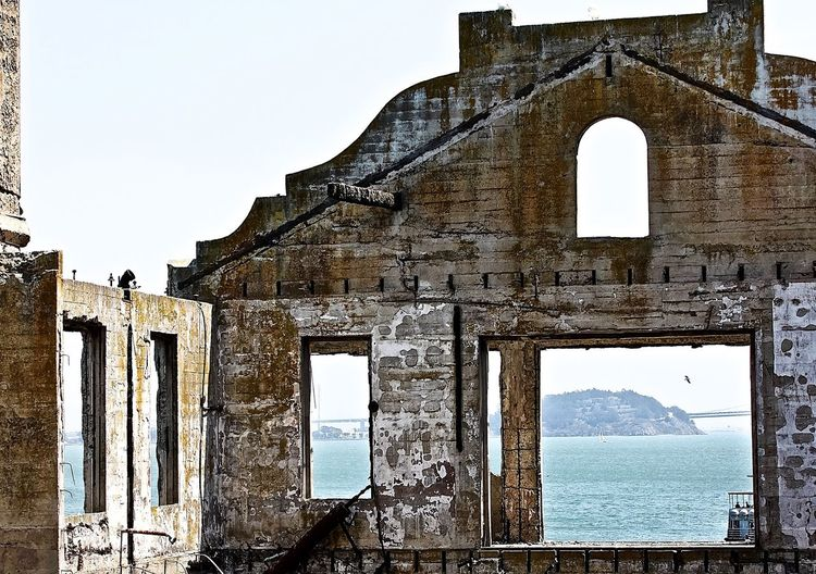 Alcatraz Alcatraz In Sight Alcatraz Island Built Structure History Old Ruin Travel Destinations Weathered