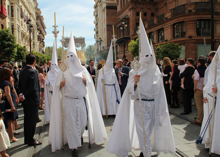 Semana Santa in Seville Andalucía Culture Cultures Easter Easter Sunday Holy Week Palm Sunday Palm Sunday Procession Religion Semana Santa Sevilla Solemnity Tradition