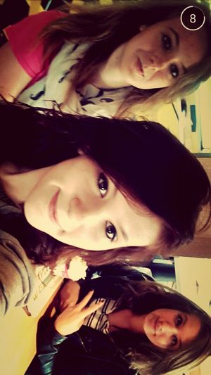 That's Me with Friend <3 Enjoying Life <3 Mc Donald's !