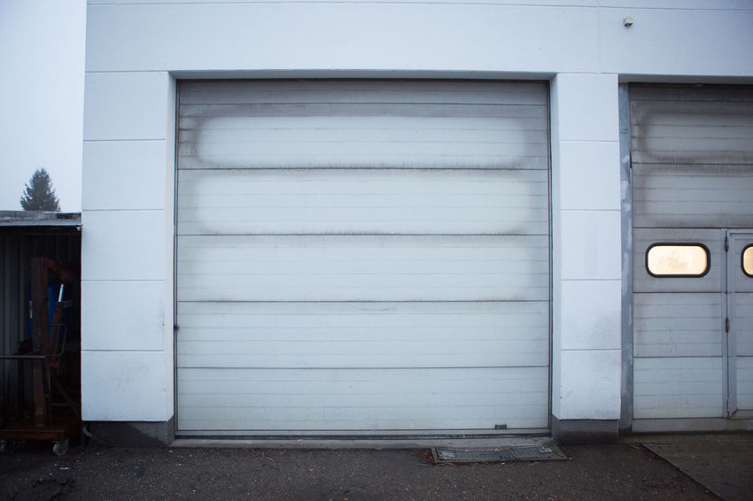 Architecture Building Exterior Built Structure Car Carhood Carhouse Cars CarShow Closed Cloudy Corrugated Iron Day Daylight Door Driveway Garage Garage Door Light Minimalism Minimalist Architecture No People Outdoors Parking Rainy Sunny