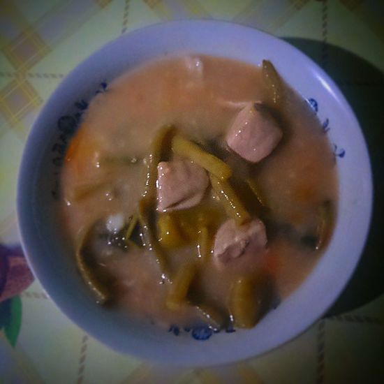 Pork sinigang for my dinner. HappyTummy Foodporn Foodstagram