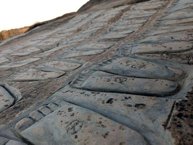 Pad chinha.....feet imprints of jain teerthankaras from bijoliya parasnath. Close-up Day No People Feet Jain JAINISM👏