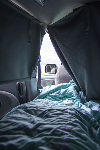 Bed In Motor Home