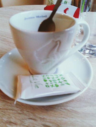 Koffee Enjoying Life Relaxing