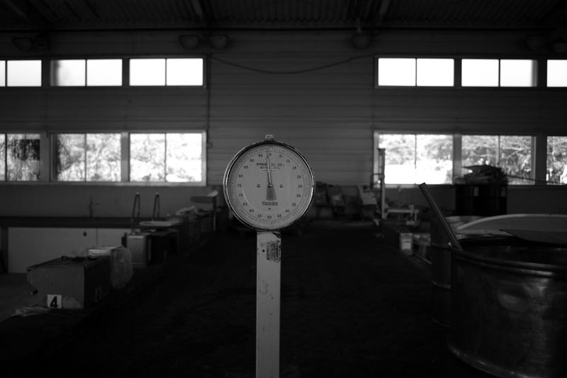 ELMARIT-M 28mm F2.8 Abandoned Accuracy Architecture Blackandwhite Built Structure Day Factory Indoors  Industry Leica M9-p Machinery Monochrome No People Number Old Time Window